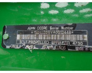 John Deere 4730 Self-Propelled Sprayer '11